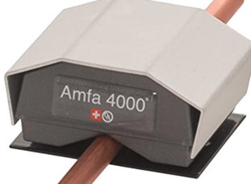 amfa4000 waterontharder met leiding